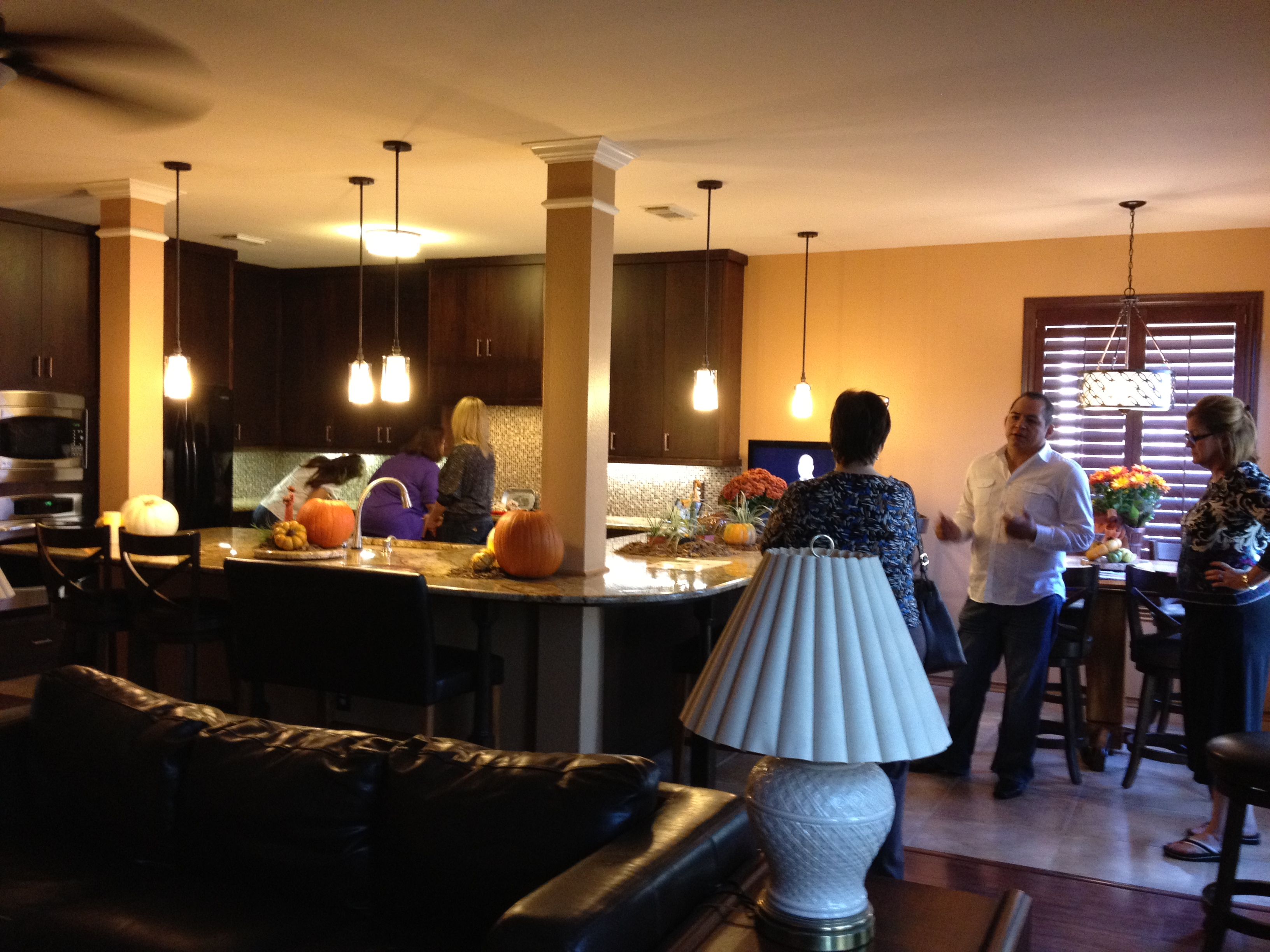 Visitors at the 2011 Tour of Remodeled Homes